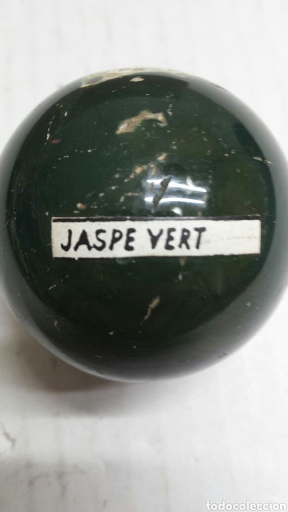 GEMA BOLA PULIDA JASPE VERT (Coleccionismo - Mineralogía - Otros)