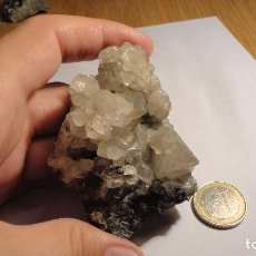 Coleccionismo de minerales: CALCITA DE LA UNIÓN, MURCIA 8X5 CM. Lote 78264421