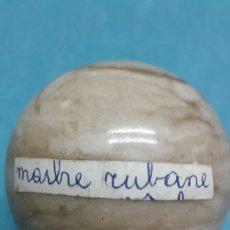 Coleccionismo de minerales: GEMA BOLA PULIDA MARBRE RUBANE. Lote 78890537
