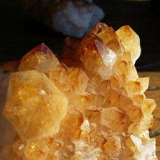 Coleccionismo de minerales: DRUSA CITRINO 800 GRS. Lote 82956656