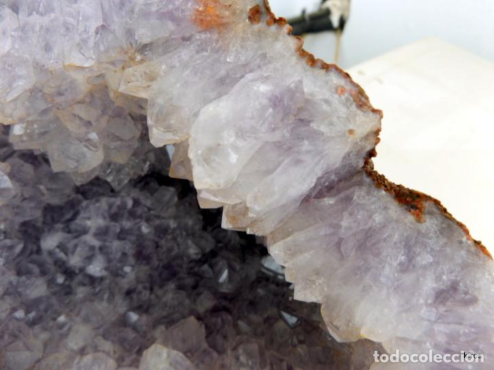 Coleccionismo de minerales: GEODA CUARZO AMATISTA - Foto 4 - 47940563