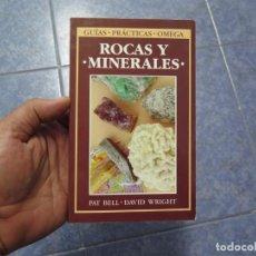 Coleccionismo de minerales: ROCAS Y MINERALES/ BELL (GUIA DEL NATURALISTA-ROCAS-MINERALES-PIEDRAS PRECIOSAS). Lote 86252176