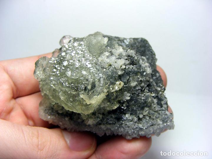 Coleccionismo de minerales: FD MINERALES: ESPECTACULAR FLUORITA CON CUARZO - HUNAN - CHINA - CH 57 - Foto 8 - 86943600