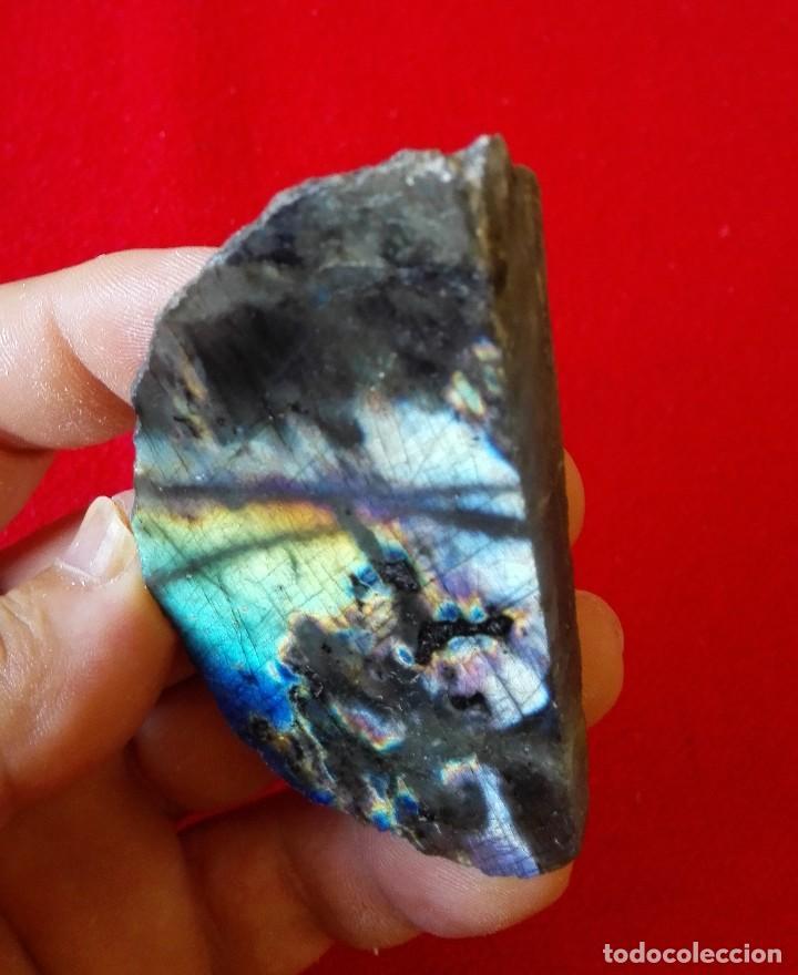 Coleccionismo de minerales: BUEN EJEMPLAR DE LABRADORITE - Foto 2 - 93698615