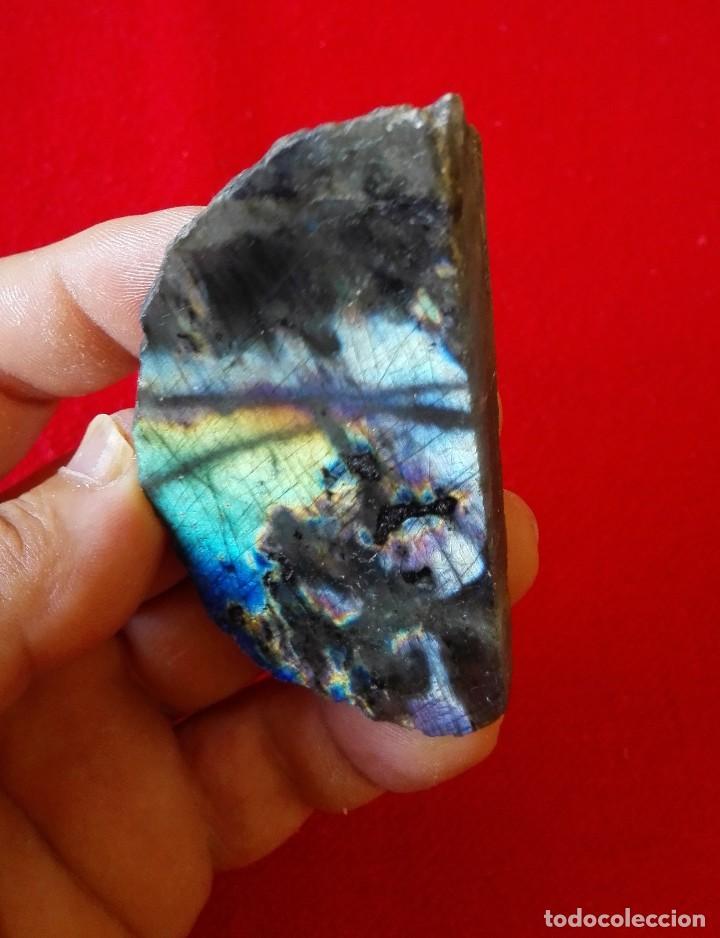 Coleccionismo de minerales: BUEN EJEMPLAR DE LABRADORITE - Foto 3 - 93698615