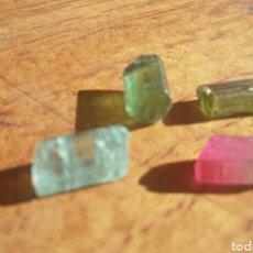 Coleccionismo de minerales: LOTE 4 PRECIOSAS TURMALINAS. Lote 95000704