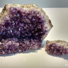 Coleccionismo de minerales: AMATISTAS. Lote 95832291
