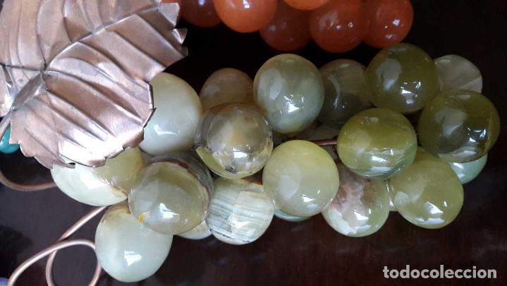 Coleccionismo de minerales: CONJUNTO 6 RACIMOS DE UVA EN PIEDRAS SEMIPRECIOSAS. - Foto 4 - 96625635