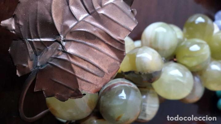 Coleccionismo de minerales: CONJUNTO 6 RACIMOS DE UVA EN PIEDRAS SEMIPRECIOSAS. - Foto 5 - 96625635