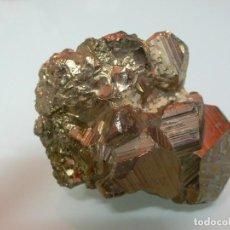 Coleccionismo de minerales: CRISTALES DE PIRITA EN DODECAEDROS 7 X 5 CM.. Lote 102430099