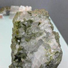 Coleccionismo de minerales: PISTACITA CON CUARZO 8 X 6 CM. Lote 102430543
