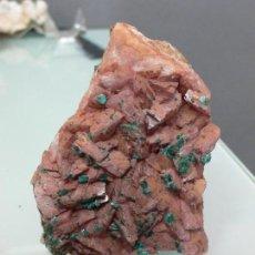 Coleccionismo de minerales: DOLOMITA CON MALAQUITA 7 X 5 CM.. Lote 102430699