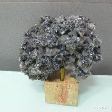 Coleccionismo de minerales: DRUSA CON GRAN CANTIDAD DE CRISTALES DE CALCITA. Lote 102482787