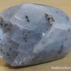 Coleccionismo de minerales: MINERAL POR IDENTIFICAR BLANCO GRISÁCEO CON PUNTOS NEGROS - COLECCIONISMO. Lote 103635783