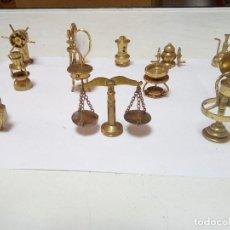 Coleccionismo de minerales: FIGURAS DE BRONCE. Lote 104342215
