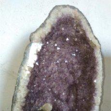 Coleccionismo de minerales: GEODA AMATISTA. Lote 104426059
