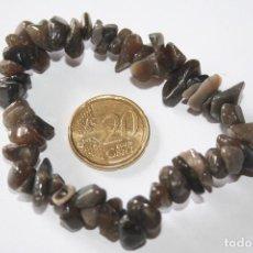 Coleccionismo de minerales: BONITA PULSERA ELASTICA *** PIEDRAS MINERALES NATURALES *** TENGO OTRAS MÁS *** ENTRE MIS ANUNCIOS . Lote 105021599