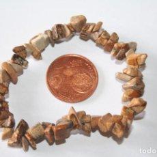 Coleccionismo de minerales: BONITA PULSERA ELASTICA *** PIEDRAS MINERALES NATURALES *** TENGO OTRAS MÁS *** . Lote 105023163