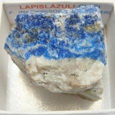 Coleccionismo de minerales: LAPISLÁZULI. Lote 107349595