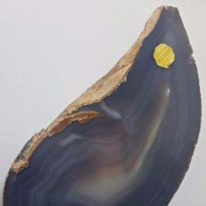 Coleccionismo de minerales: EXCEPCIONAL OPALO GEODA, JOYERIA ALADREN, LARGO DE 29 CMTS. PERFECTO ESTADO. MINERALES. Lote 108685071