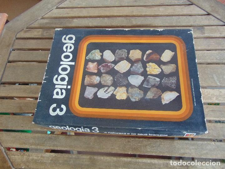 COLECCION DE MINERALES GEOLOGIA 3 LIBRITO EN PORTUGUES JUEGO (Coleccionismo - Mineralogía - Otros)