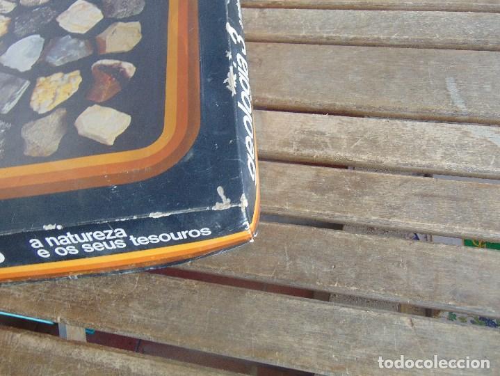 Coleccionismo de minerales: COLECCION DE MINERALES GEOLOGIA 3 LIBRITO EN PORTUGUES JUEGO - Foto 3 - 108701971