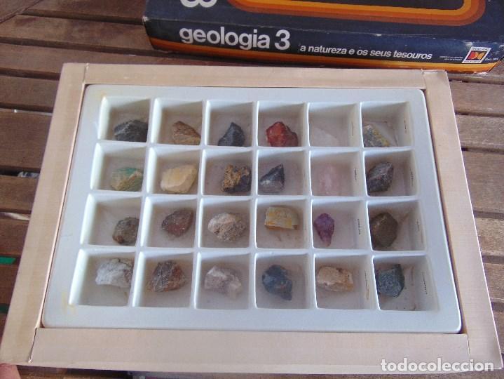 Coleccionismo de minerales: COLECCION DE MINERALES GEOLOGIA 3 LIBRITO EN PORTUGUES JUEGO - Foto 9 - 108701971