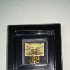 Coleccionismo de minerales: MUESTRA DE ORO 22 KILATES PRECINTADO. Lote 109449380