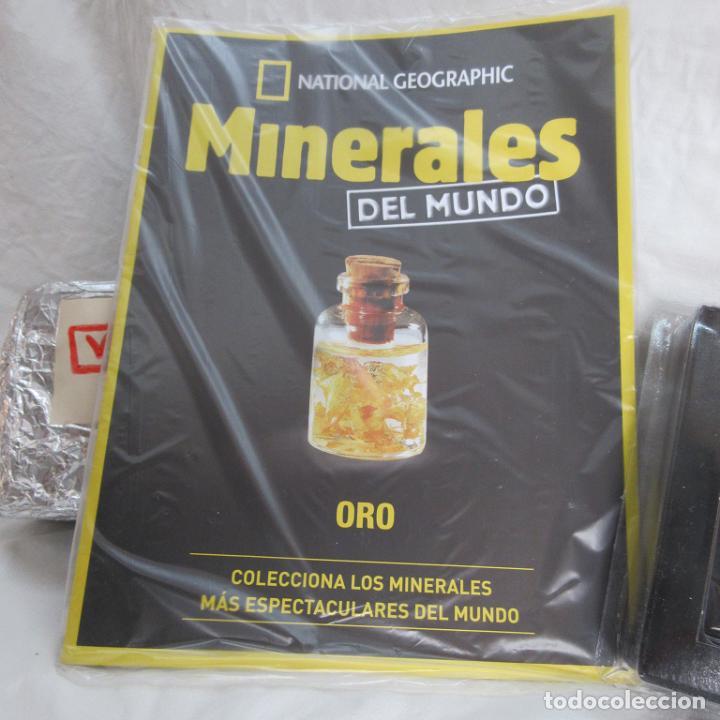 Coleccionismo de minerales: Oro 22 Kilates National Geografic - Foto 4 - 109453667