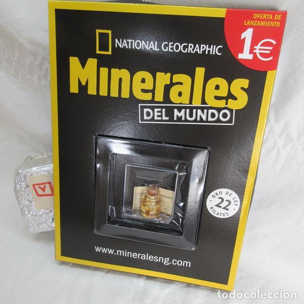 Coleccionismo de minerales: Oro 22 Kilates National Geografic - Foto 5 - 109453667