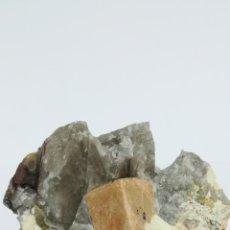 Coleccionismo de minerales: MICROCLINA Y CUARZO-MINERAL. Lote 112120015