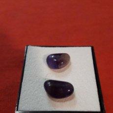 Coleccionismo de minerales: 2 PEPITAS DE AMATISTA DE 12.5 KILATES. Lote 114874691