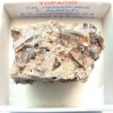 Coleccionismo de minerales: TOPACIO. Lote 115131479