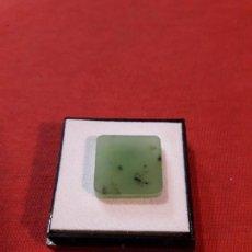 Coleccionismo de minerales: JADE VERDE ???? DE 19.5 KILATES. Lote 115491495