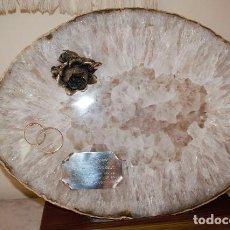 Coleccionismo de minerales: PIEDRA DE BRASIL - AGATA. Lote 116288979