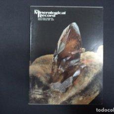 Coleccionismo de minerales: 6 REVISTAS MINERALOGICAL RECORD -1984 - ANO COMPLETO. Lote 118022219