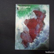 Coleccionismo de minerales: 6 REVISTAS MINERALOGICAL RECORD -1991 - ANO COMPLETO. Lote 118022359