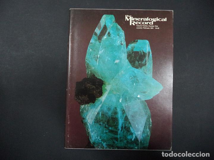 6 REVISTAS MINERALOGICAL RECORD -1981 - ANO COMPLETO (Coleccionismo - Mineralogía - Otros)