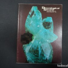 Coleccionismo de minerales: 6 REVISTAS MINERALOGICAL RECORD -1981 - ANO COMPLETO. Lote 118022523