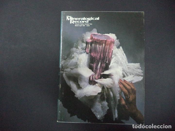 Coleccionismo de minerales: 6 revistas Mineralogical Record -1981 - Ano Completo - Foto 2 - 118022523