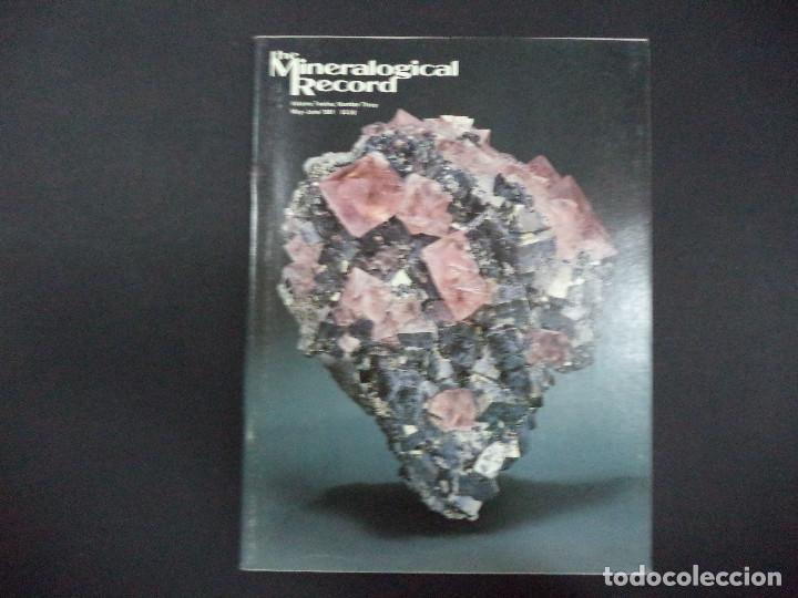 Coleccionismo de minerales: 6 revistas Mineralogical Record -1981 - Ano Completo - Foto 3 - 118022523