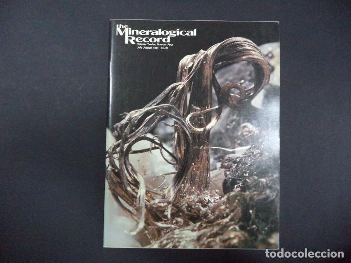Coleccionismo de minerales: 6 revistas Mineralogical Record -1981 - Ano Completo - Foto 4 - 118022523