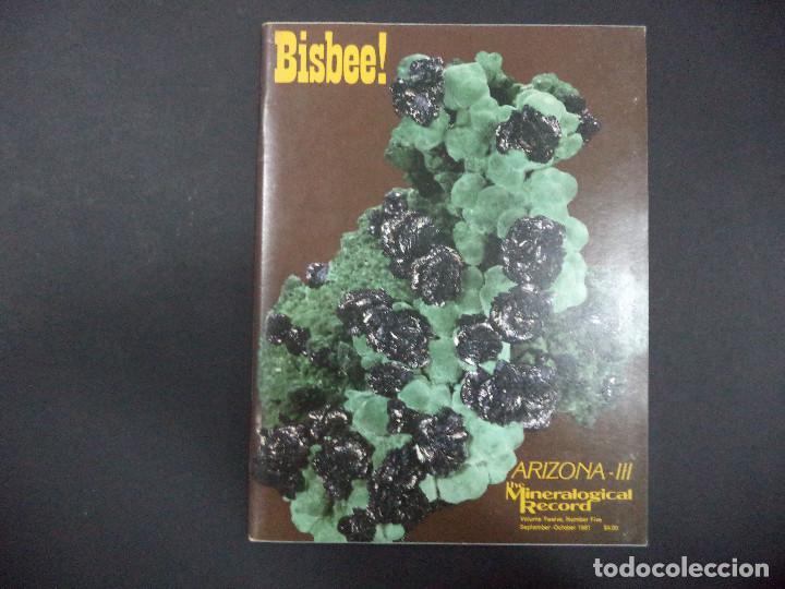 Coleccionismo de minerales: 6 revistas Mineralogical Record -1981 - Ano Completo - Foto 5 - 118022523