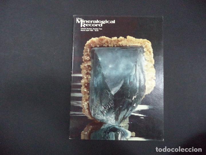 Coleccionismo de minerales: 6 revistas Mineralogical Record -1985 - Ano Completo - Foto 2 - 118022815