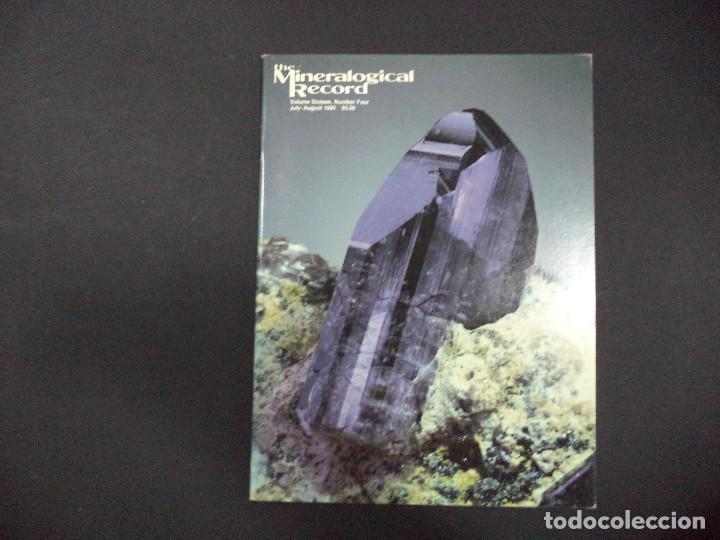 Coleccionismo de minerales: 6 revistas Mineralogical Record -1985 - Ano Completo - Foto 4 - 118022815