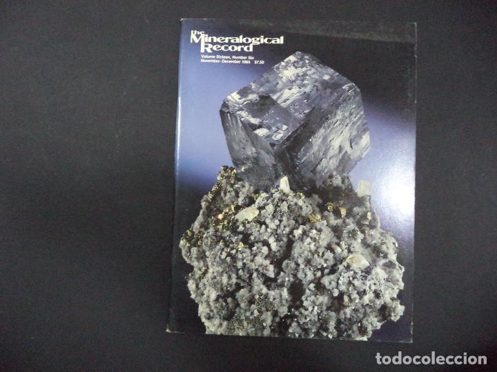 Coleccionismo de minerales: 6 revistas Mineralogical Record -1985 - Ano Completo - Foto 6 - 118022815