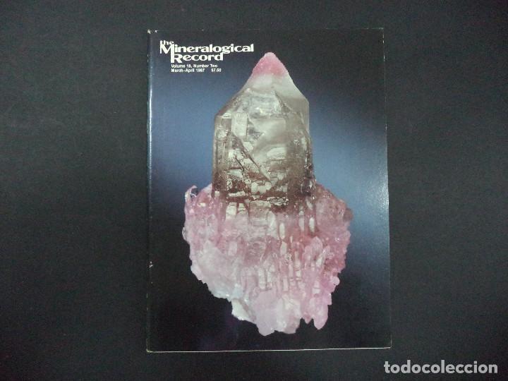 4 REVISTAS MINERALOGICAL RECORD -1987 (Coleccionismo - Mineralogía - Otros)