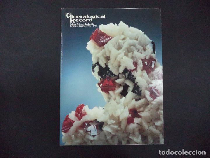 Coleccionismo de minerales: 4 revistas Mineralogical Record -1987 - Foto 4 - 118022871