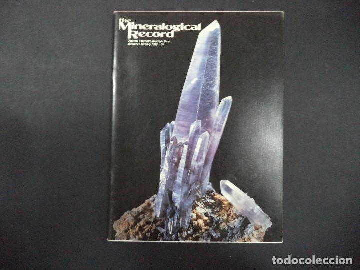 4 REVISTAS MINERALOGICAL RECORD -1983 (Coleccionismo - Mineralogía - Otros)