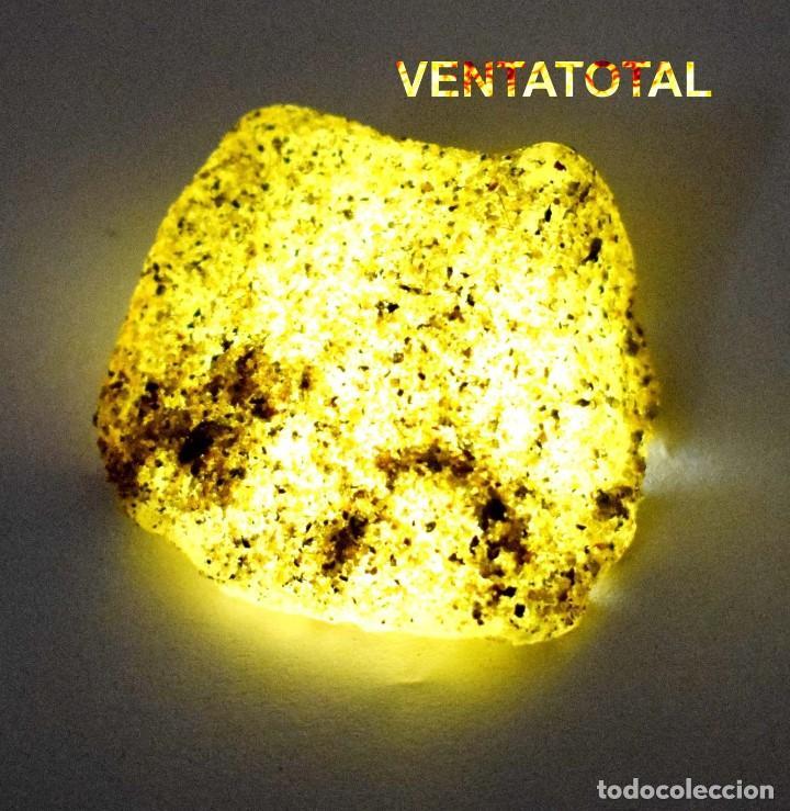 ZAFIRO AMARILLO EN BRUTO DE 125,50 KILATES CON CERTIFICADO IGL MEDIDA 3,7 X 3,6 CENTIMETROS -Nº10 (Coleccionismo - Mineralogía - Otros)
